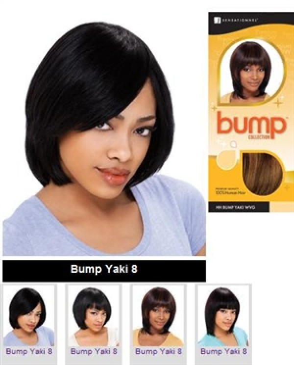 Sensationnel Bump Collection Human Hair Weaving Yaki 8 Inch Save